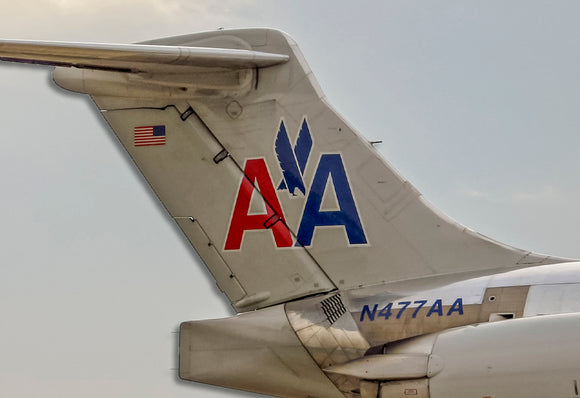 American Airlines MD-80 Tail Logo (PMCT4036)