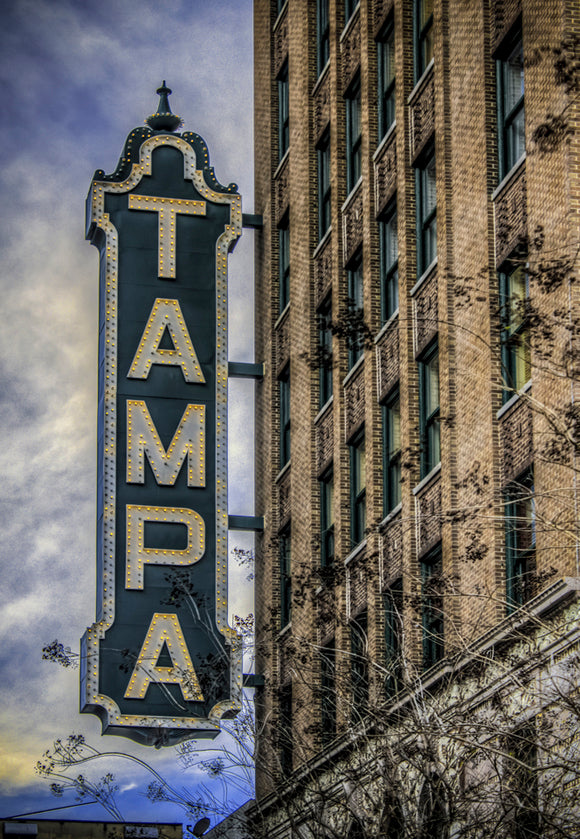 Tampa Theater Sign (PMD10012)