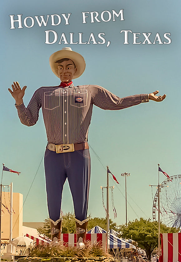 Dallas Texas Big Tex (PMD10018)