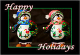 Two Penguin Happy Holidays (PMH11004)