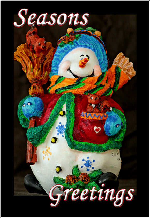 Seasons Greetings Snowman (PMH11011)
