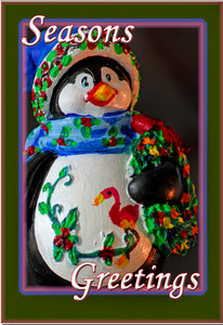 Seasons Greeting Penguin (PMH11012)