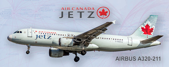 Air Canada Jetz Airlines Airbus A320 (PMT1504)