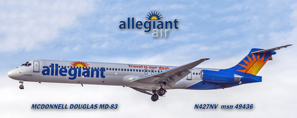 Allegiant Airlines MD-83 (PMT1510)