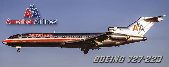 American Airlines 1968 Colors Boeing 727-223 (PMT1511)