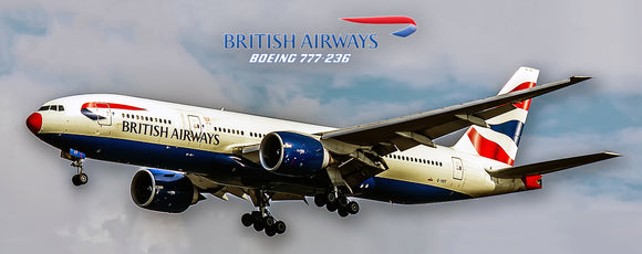 British Airways Boeing 777 (PMT1515)