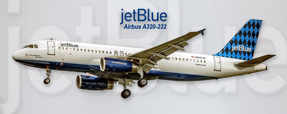 JetBlue Airways Airbus A320 (PMT1534)