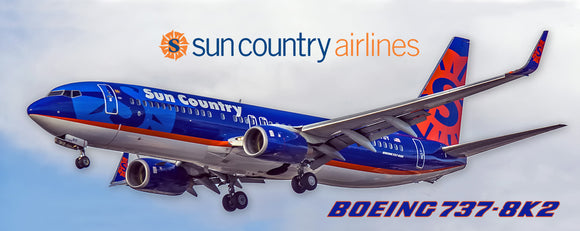 Sun Country Airlines Boeing 737-8K2 (PMT1548)