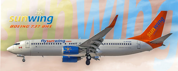 Sunwing Airlines Boeing 737-8HX(PMT1549)