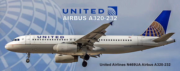 United Airlines 2011 Colors Airbus A320- 232 (PMT1550)
