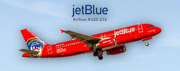 JetBlue Airways Airbus A320-232 FDNY Colors (PMT1551)
