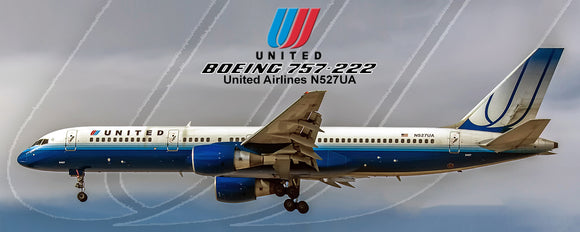 Untied Airlines 2004 Colors Boeing 757-222 (PMT1552)