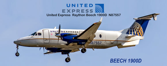 United Express Airlines Beech 1900D (PMT1555)
