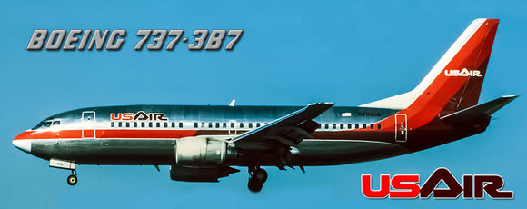 USAir Airlines Boeing 737-3B7 (PMT1557)