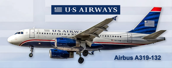 USAirways Airlines Airbus A319-132 (PMT1558)