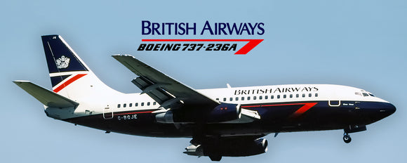 British Airways Boeing 737-200 (PMT1566)