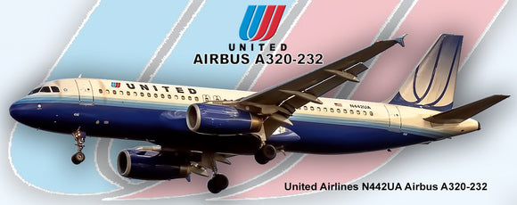United Airlines 2004 Colors Airbus A320-232 (PMT1571)