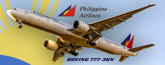 Philippine Airlines, Boeing 777-36N (PMT1587)