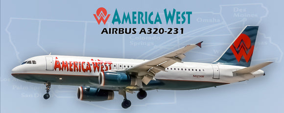 America West Airlines Airbus A320 (PMT1608)