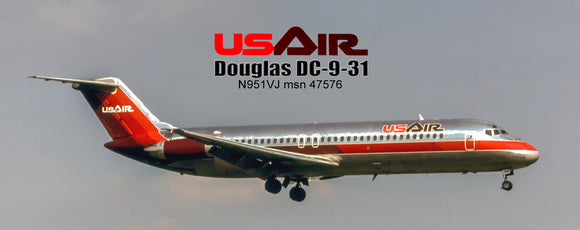 USAir Airlines Douglas DC-9-31 (PMT1614)