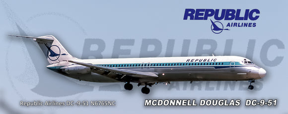 Republic Airlines Herman Logo DC-9-51 (PMT1632)