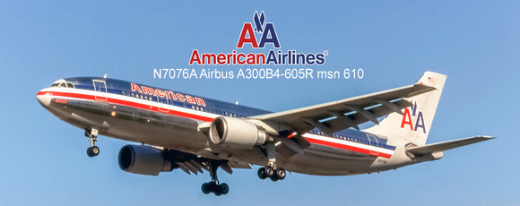 American Airlines Airbus A300B4-605R (PMT1637)