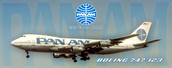 Pan Am Airlines Boeing 747 (PMT1638)