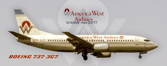 America West Airlines Boeing 737-3G7 (PMT1645)