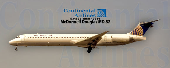 Continental Airlines MD-82 (PMT1648)