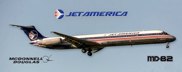Jet America Airlines MD-82 (PMT1649)