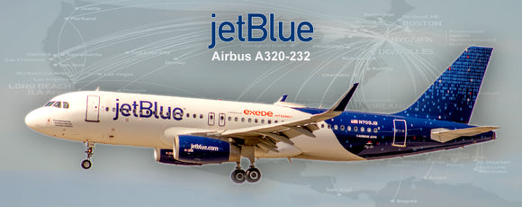 JetBlue Airways Airbus A320-232 Fly-Fi Binary Colors (PMT1654)