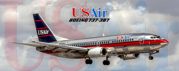 USAir Airlines Boeing 737-3B7 (PMT1662)