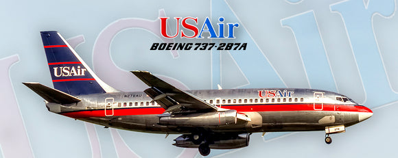 USAir Airlines Boeing 737-2B7A (PMT1663)