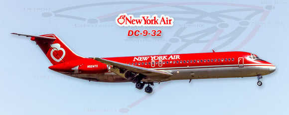 New York Air Douglas DC-9 (PMT1678