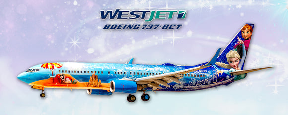 WestJet Airlines Boeing 737-8CT Frozen Color Scheme (PMT1697)