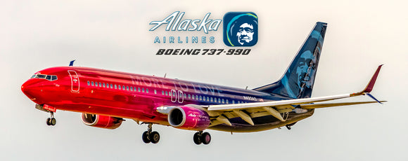 Alaska Airline Boeing 737-990 More to Love (PMT1701)