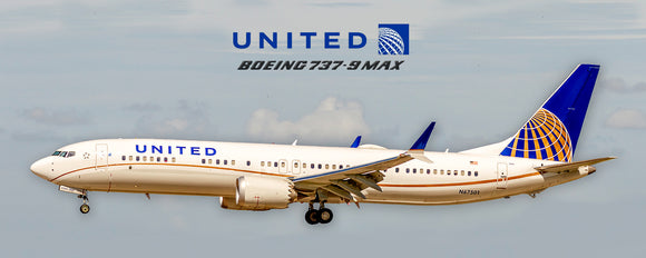 United Airlines Boeing 737-9 Max (PMT1702)