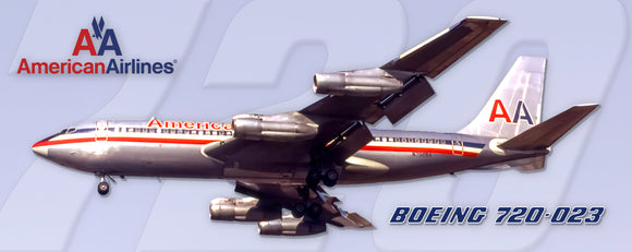 American Airlines Boeing 720 70's colors (PMT1707)