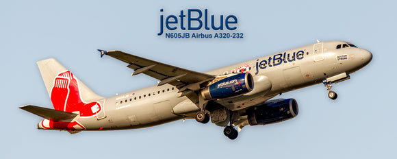 JetBlue  Airbus A320-232 Boston Strong Red Sox Colors (PMT1711)
