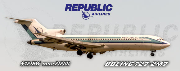 Republic Airlines Boeing 727-2M7 (PMT1713)