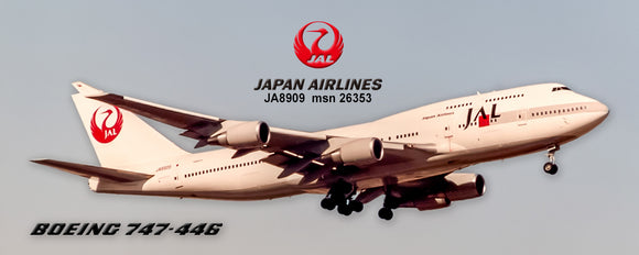 Japan Airlines Boeing 747-446 (PMT1718)
