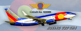Southwest Airlines Colorado One Boeing 737-7H4 (PMT1724)