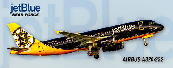 JetBlue Airways Airbus A320-232 Boston Bruins Colors (PMT1726)
