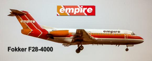 Empire Airlines Fokker F28-4000 (PMT1739)