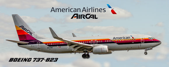 American Airlines Boeing 737 AirCal Heritage (PMT1743)