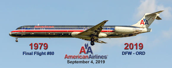 American Airlines MD-80 Commemorative (PMT1744)