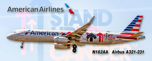 American Airlines A321 Stand Up 2 Cancer (PMT1751)