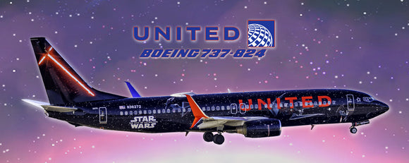 United Airlines Boeing 737-824 Star Wars (PMT1753)