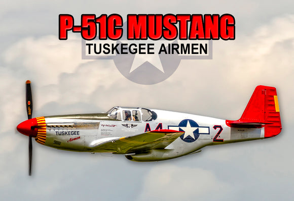 P51C Mustang Tuskegee (PMW12010