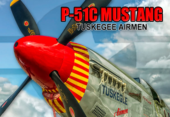 P51C Mustang Tuskegee (PMW12011)